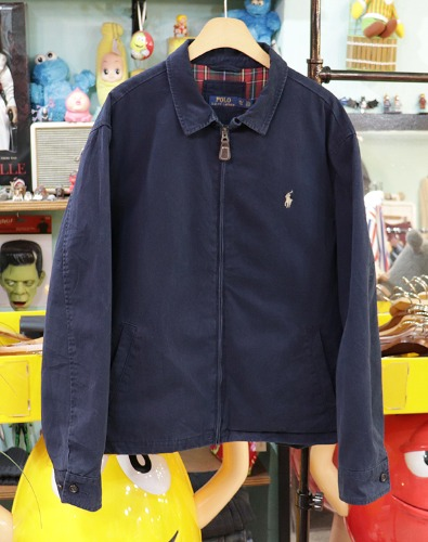 POLO by RALPH LAUREN 코튼 집업자켓 ~ XL사이즈 !!!
