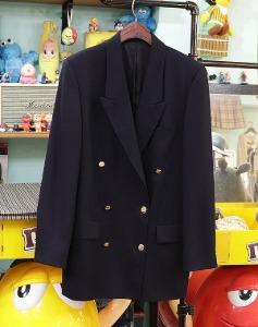 Vintag BURBERRY Double Blazer ~우먼55-66 !!!
